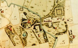 Map of Letheringsett in 1834