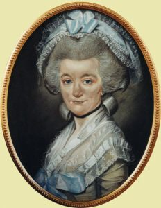 Mary Hardy in 1785