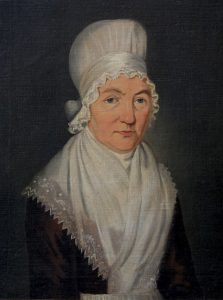 Mary Hardy in 1798, by Immanuel